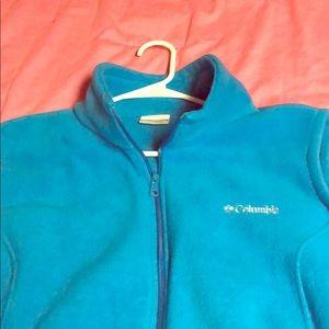 Plus size Columbia fleece vest